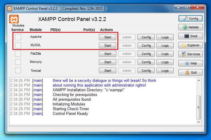 Hướng dẫn cài đặt localhost trên máy tính với XAMPP 11