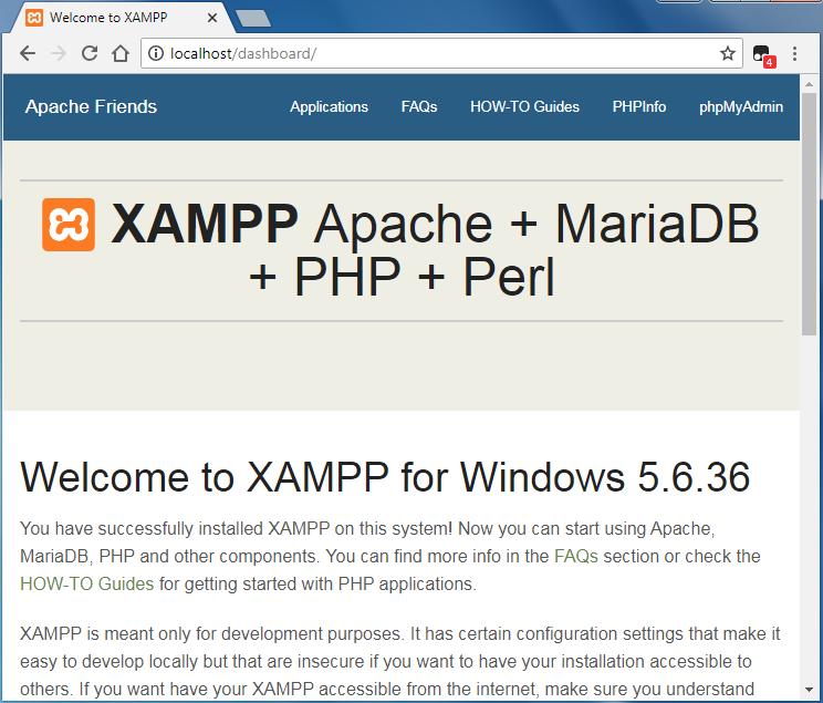 Hướng dẫn cài đặt localhost trên máy tính với XAMPP 13