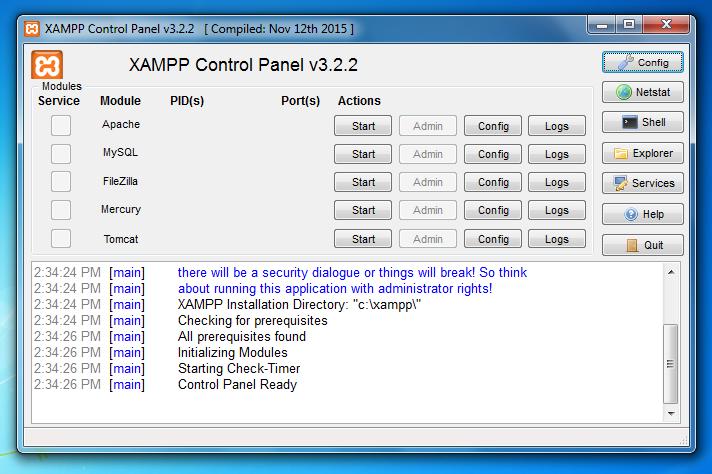 Hướng dẫn cài đặt localhost trên máy tính với XAMPP 10
