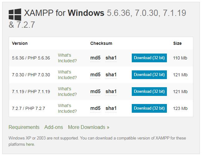 Hướng dẫn cài đặt localhost trên máy tính với XAMPP 1