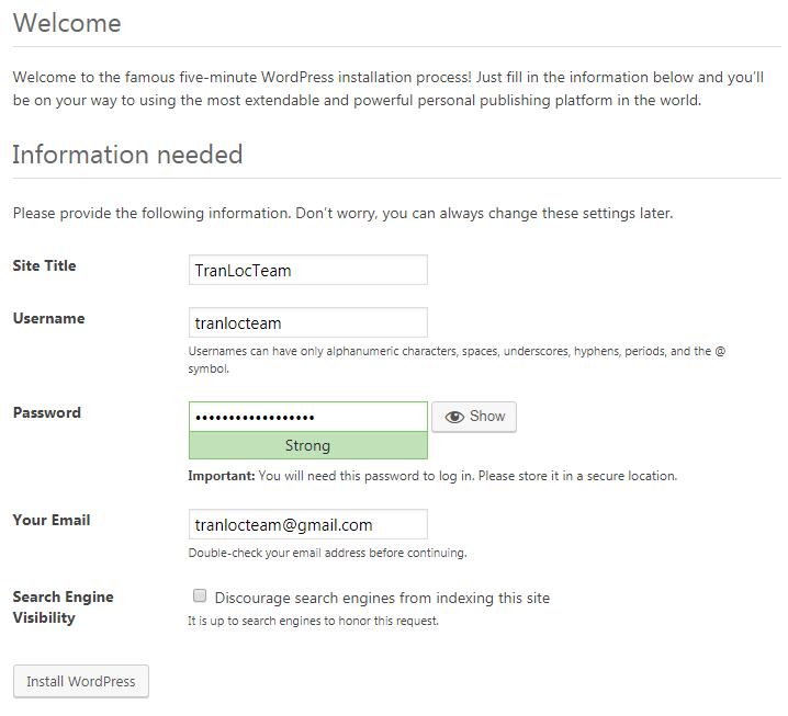 Hướng dẫn cài đặt WordPress trên localhost dùng XAMPP (2020) 13