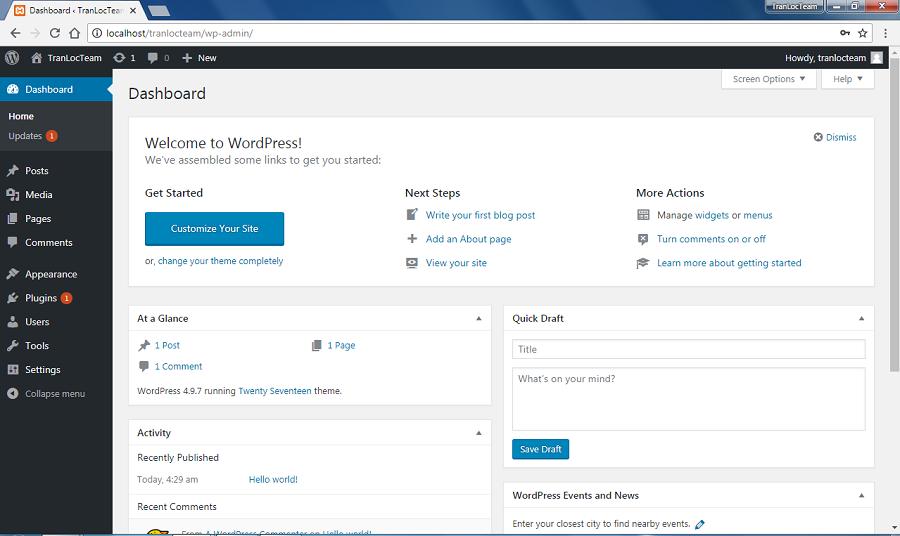 Hướng dẫn cài đặt WordPress trên localhost dùng XAMPP (2020) 16