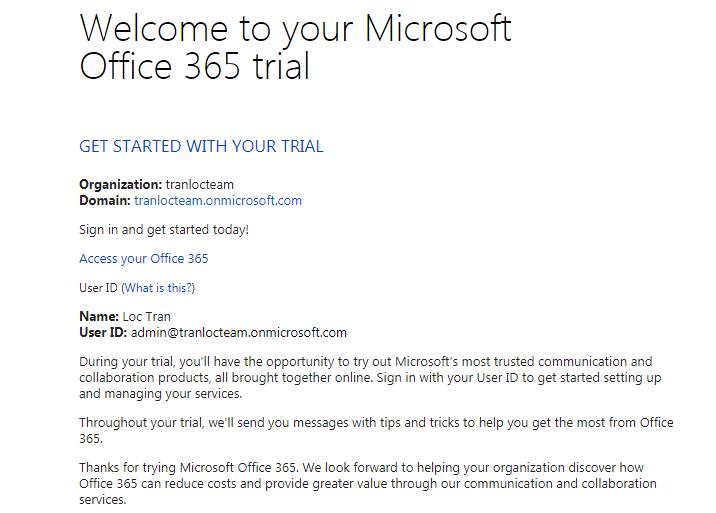 Nhận ngay phần mềm Microsoft Office 365 hoàn toàn miễn phí 13