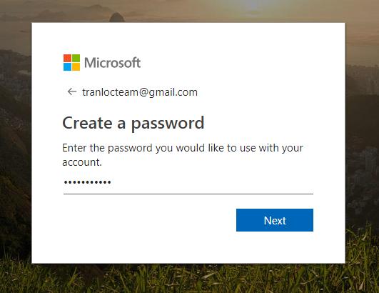 Tạo mật khẩu