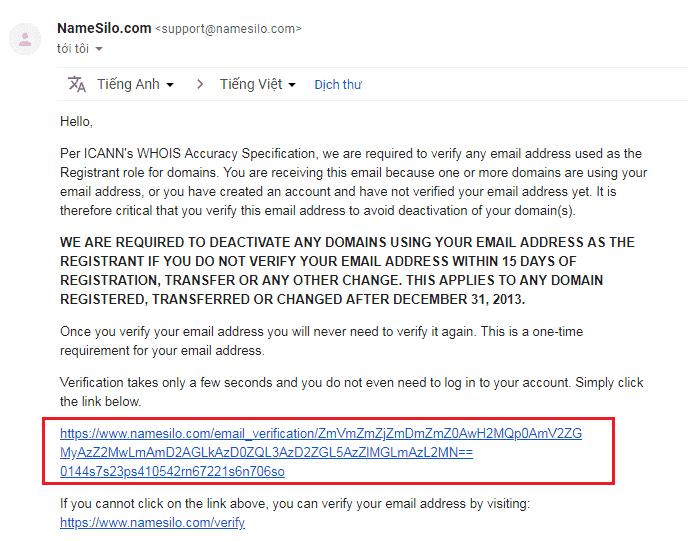 Hướng dẫn đăng ký tên miền tại NameSilo nhanh chóng 12