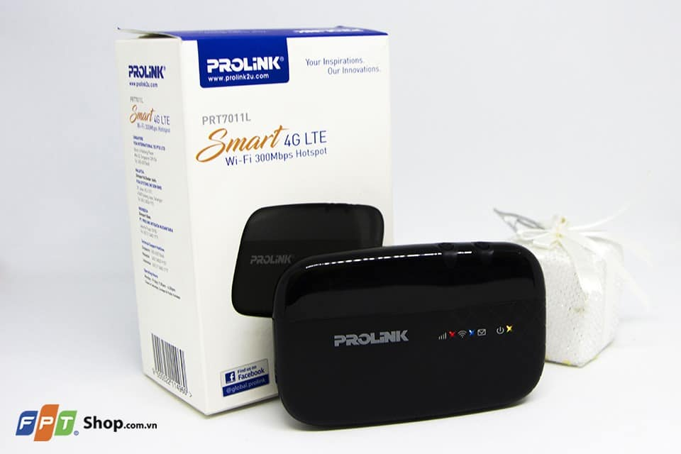 Bộ phát wifi di động 3G 4G ProLink (PRT7011L) ở FPT Shop 4