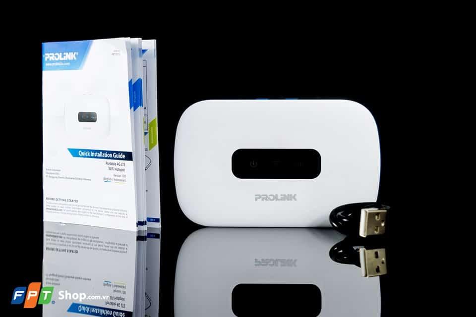 Bộ phát wifi di động 3G 4G ProLink (PRT7011L) ở FPT Shop 3