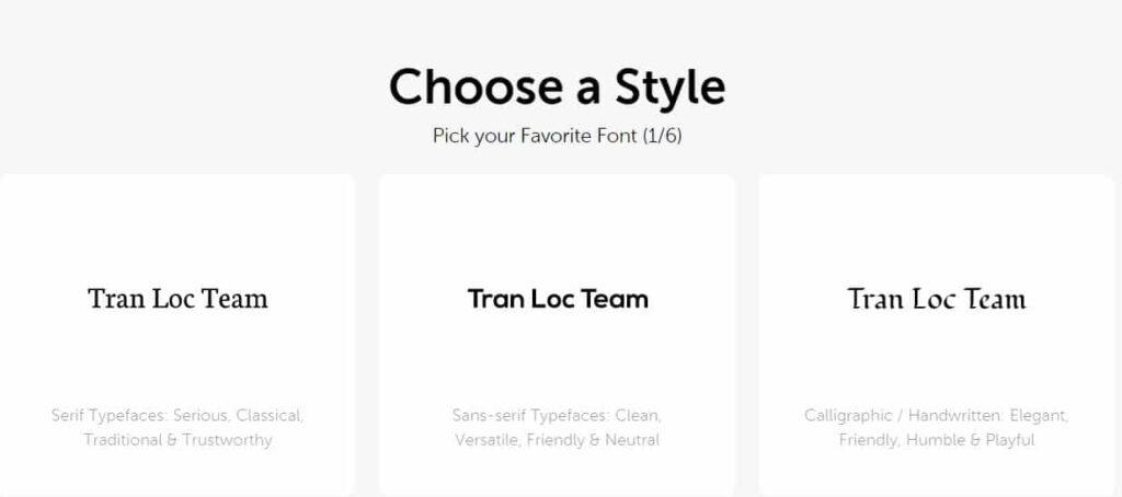 Tự tạo logo miễn phí trên Namecheap 1