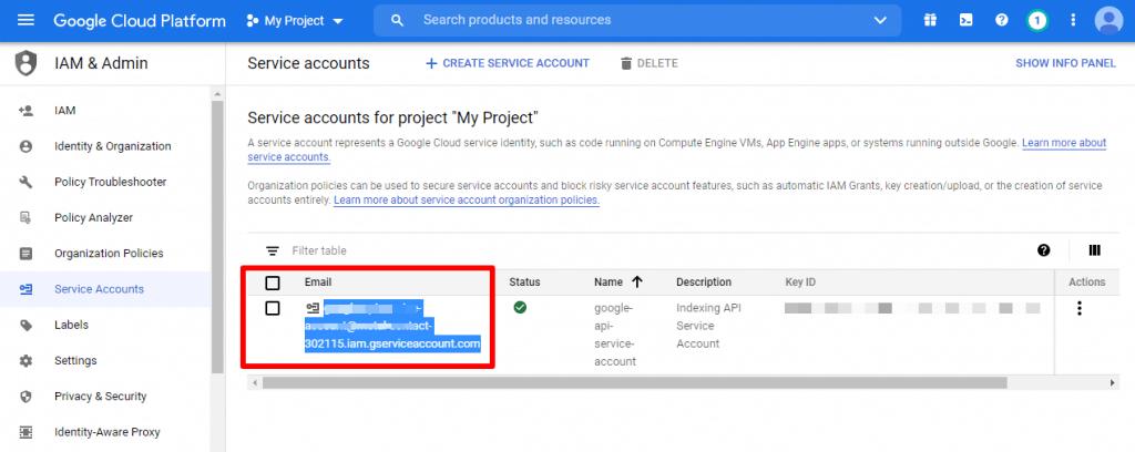[New] Cách sử dụng Google API Lập chỉ mục trang Web ngay lập tức 9