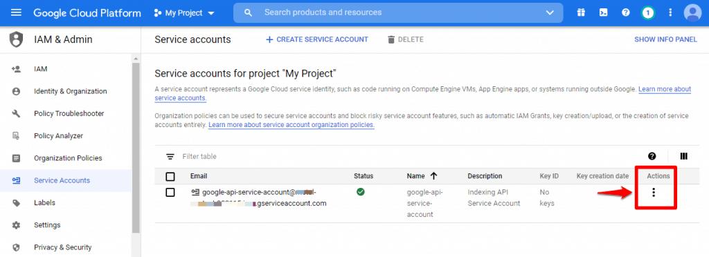 [New] Cách sử dụng Google API Lập chỉ mục trang Web ngay lập tức 3