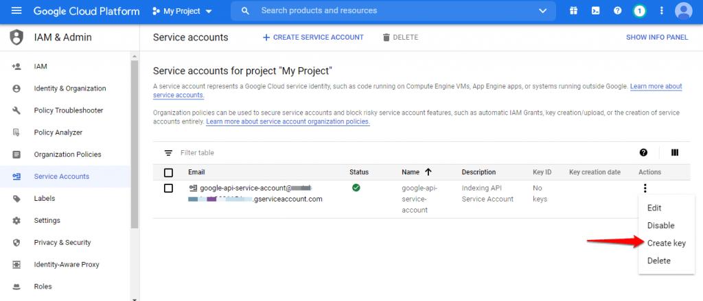 [New] Cách sử dụng Google API Lập chỉ mục trang Web ngay lập tức 4