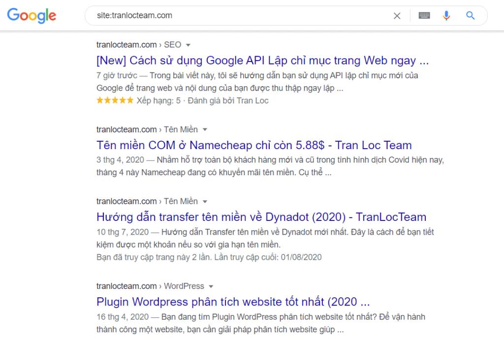 [New] Cách sử dụng Google API Lập chỉ mục trang Web ngay lập tức 1