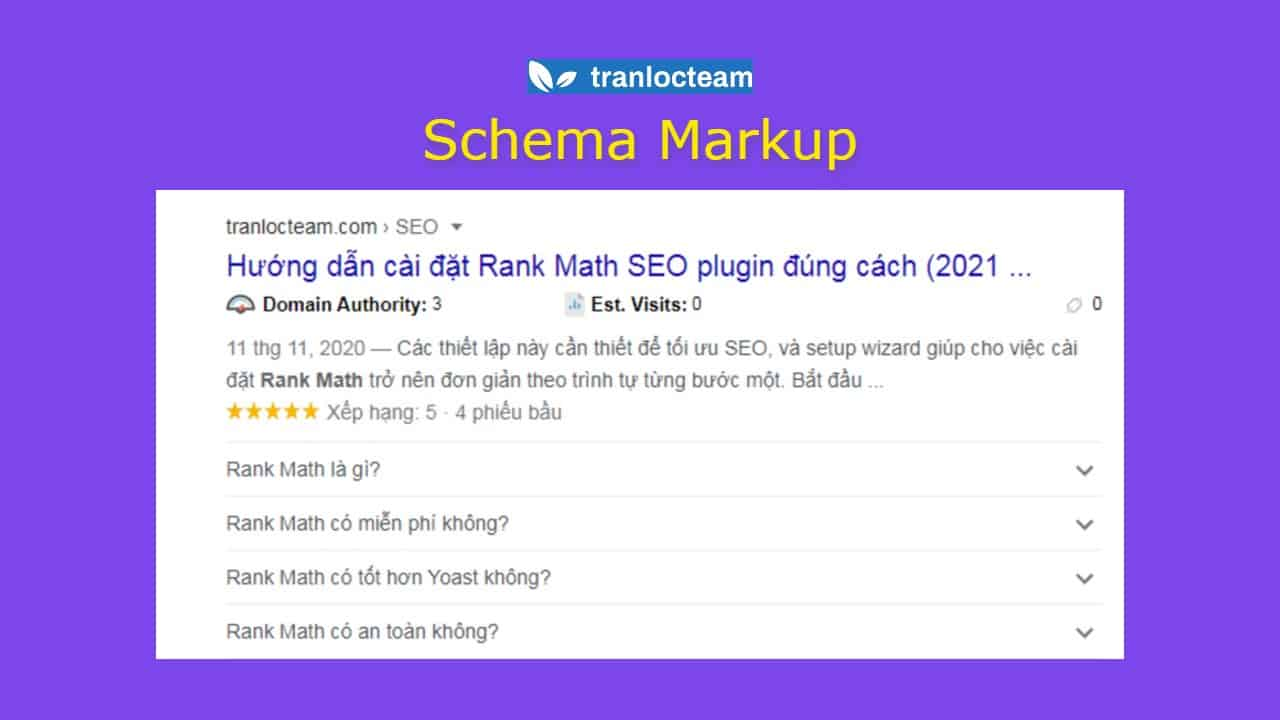 Schema Markup – Hướng dẫn DUY NHẤT bạn cần đọc năm 2021