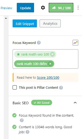 Rank Math SEO 100/100 điểm: Hướng dẫn toàn tập 33