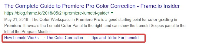 Focus Keyword in Subheading (Primary and Secondary Focus Keywords)