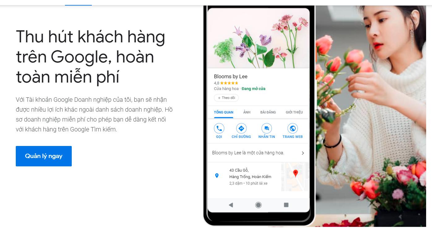 Cách tối ưu Google doanh nghiệp để bán được nhiều hàng hơn