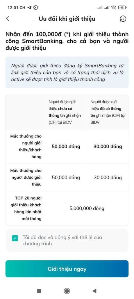 [Hướng dẫn] Kiếm tiền BIDV SmartBanking App (2021) mới nhất 2