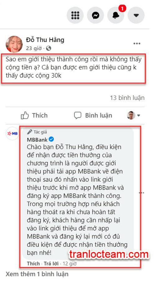 [Hướng dẫn] Lấy mã giới thiệu MB Bank (2021) 3