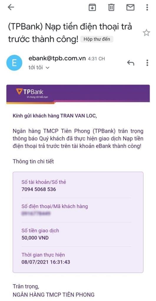 [Hướng dẫn] Kiếm tiền TPBank mới nhất (2021) 17