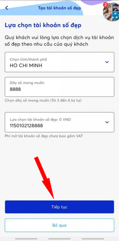 Mở tài khoản MB Bank online số đẹp miễn phí (2021) 10