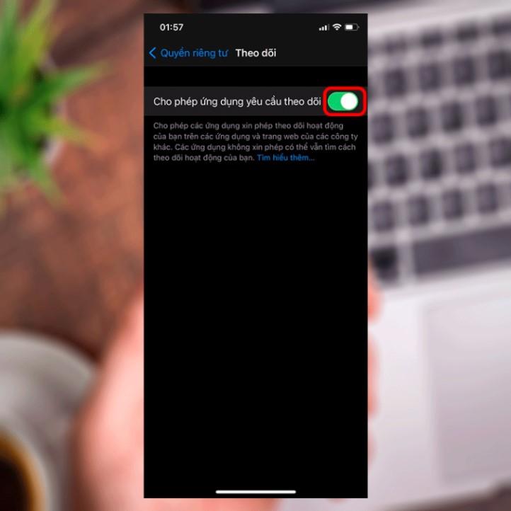 Hướng dẫn mở quyền tracking trên iPhone sử dụng iOS 14 2