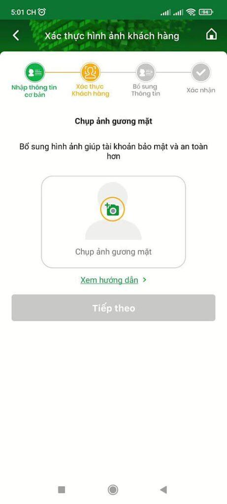 Mở tài khoản ngân hàng OCB online 10