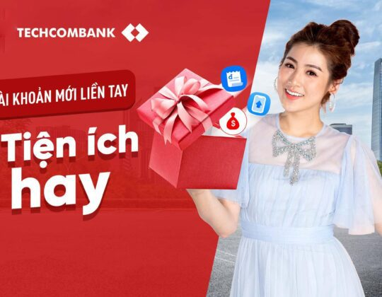 Mở tài khoản Techcombank online