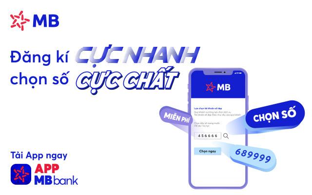 Mở tài khoản MB Bank online số đẹp miễn phí (2021) 1